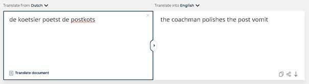 Vertaalbureau inschakelen of Google Translate